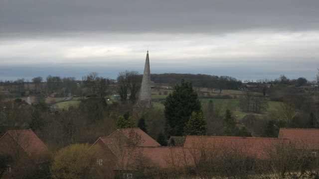 The twisted spire of Cleobury Mortimer