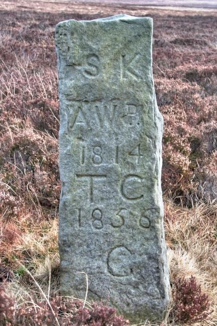 Boundary Stone, Skelderskew Moor