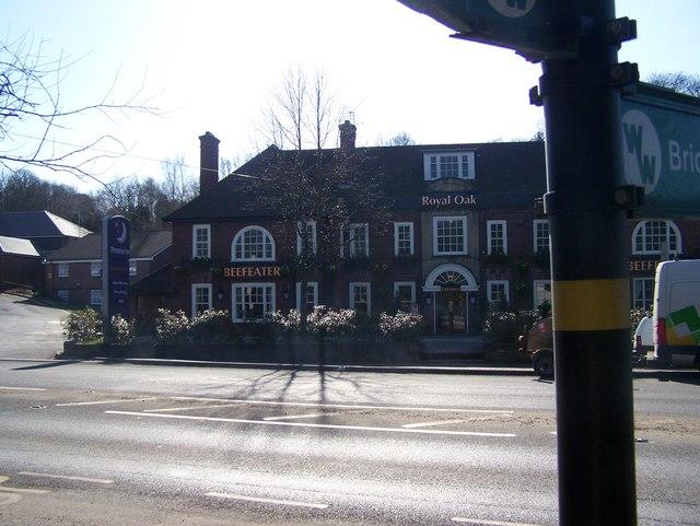 Wealdway near Royal Oak Pub
