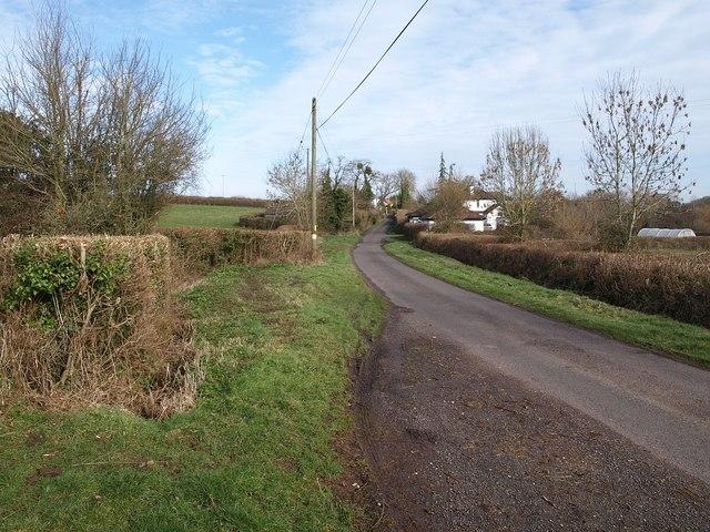 Lane to Corfe