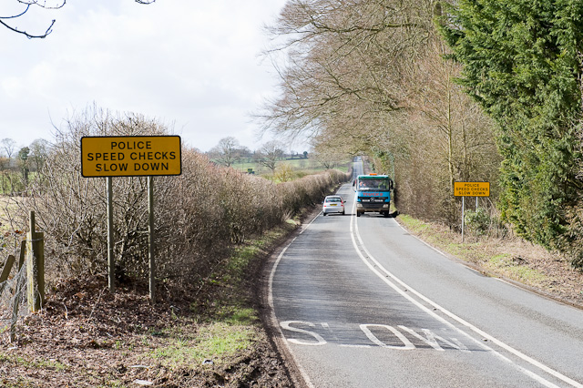 A272 near Hockley House, Cheriton