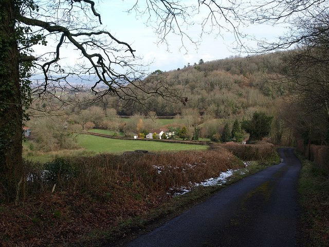 Looking down Old Combe Hill