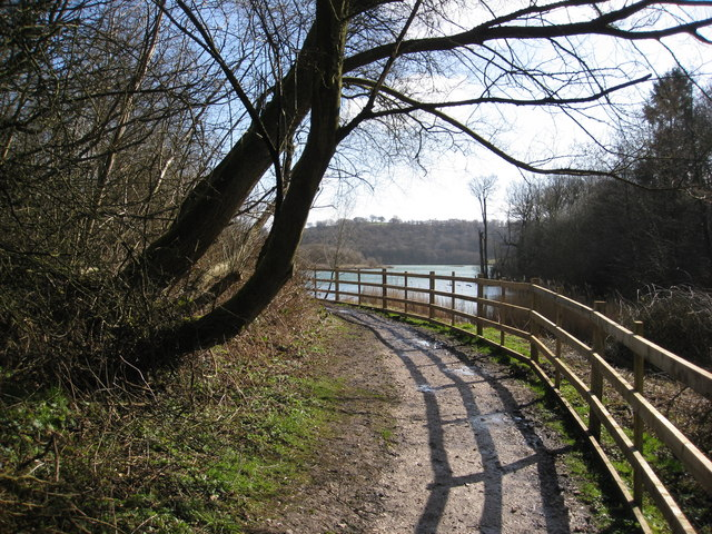 Carsington Water - Circular Route at the Sheepwash Inlet