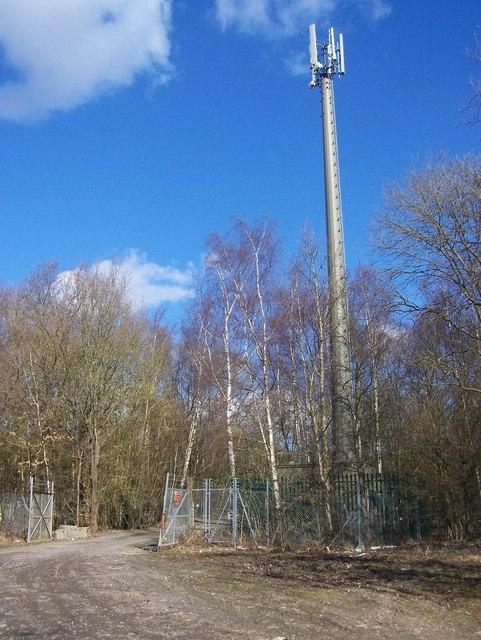 O2 Mobile Phone Mast