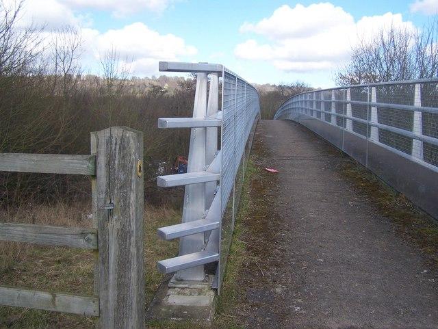 Bridleway over M26 Motorway