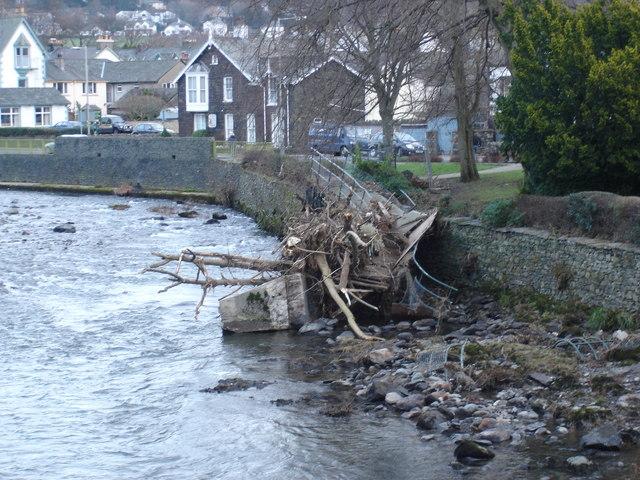 Death of a footbridge