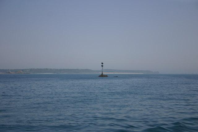 Crow Rock beacon, Crow Sound