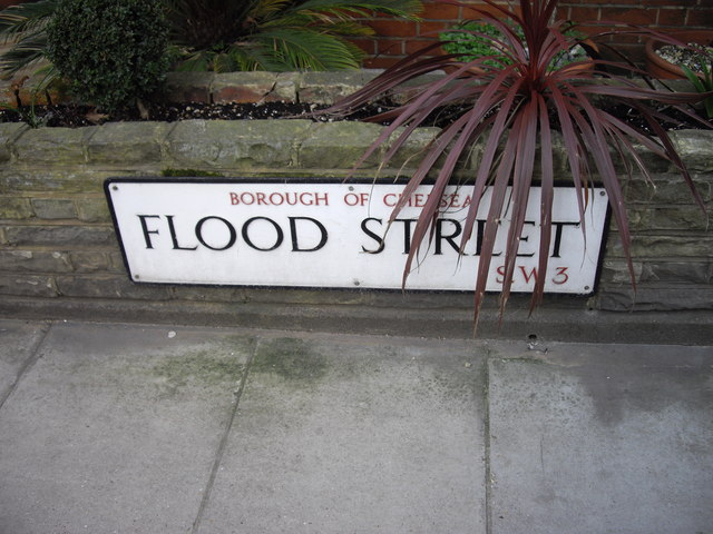 Street Sign 'Flood Street'