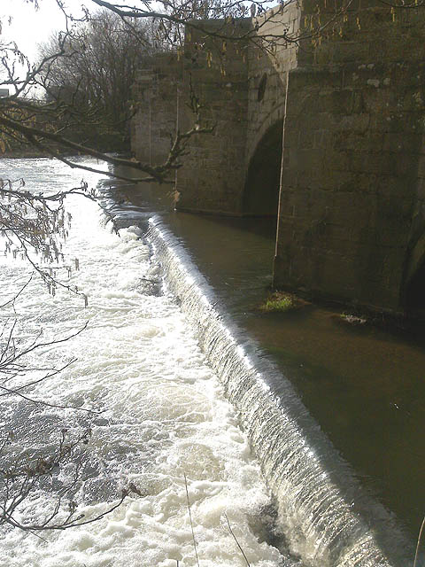 Dove Bridge and Weir