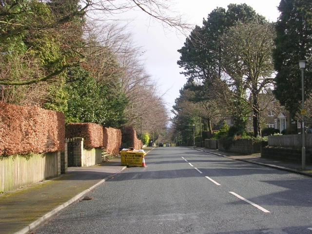 Grove Road - viewed from Beverley Rise
