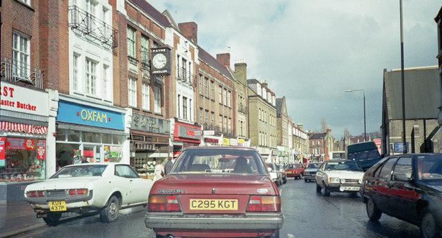 Beckenham High Street - May 1987