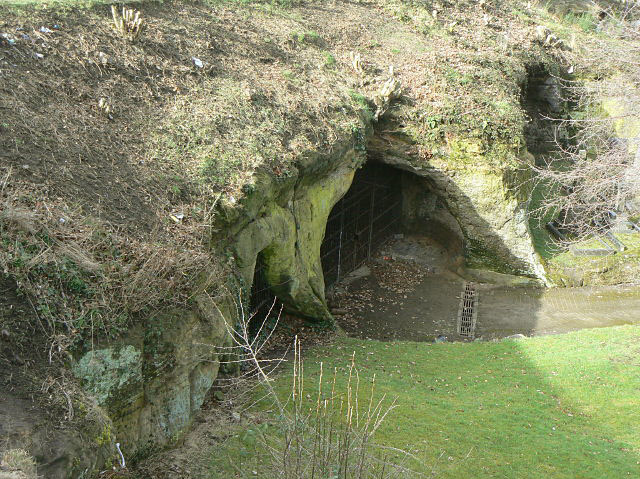 Caves in Church (Rock) Cemetery