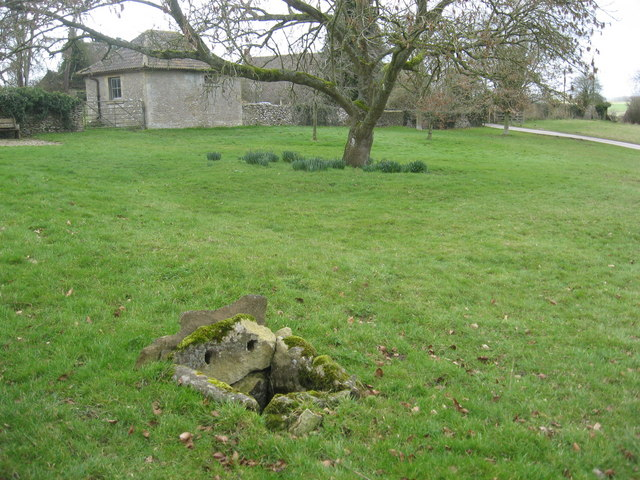 A small well on the village green