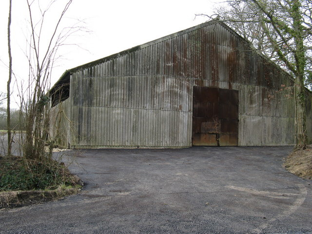 New surface to old barn