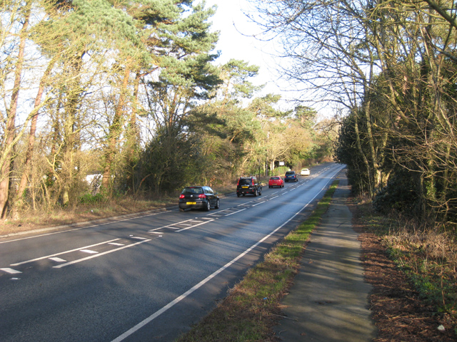 A21 towards Flimwell
