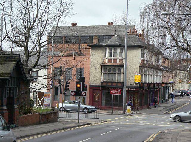 Mapperley Road at Mansfield Road