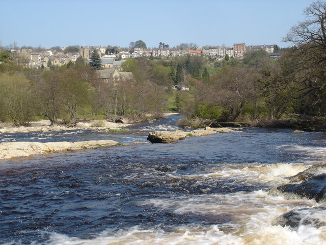 Richmond Falls' view of the town