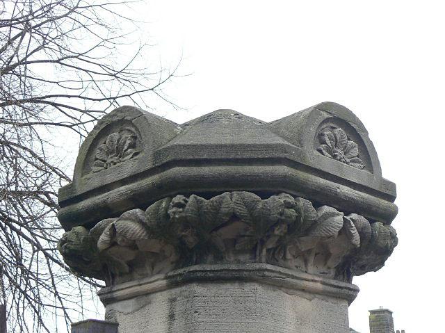 Elm Avenue gatepost - Horse Chestnut