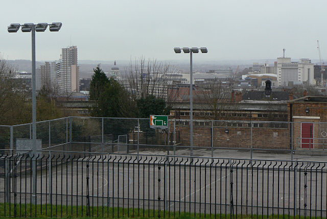 View to the City Centre from Belle Vue reservoir