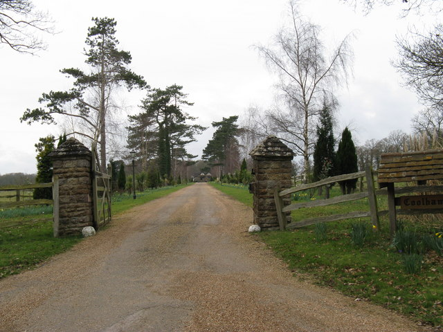 Driveway to Coolham Manor