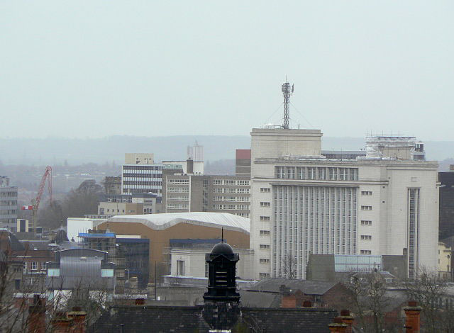 Newton Building and Royal Centre
