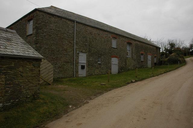 Buildings at Lamledra Farm
