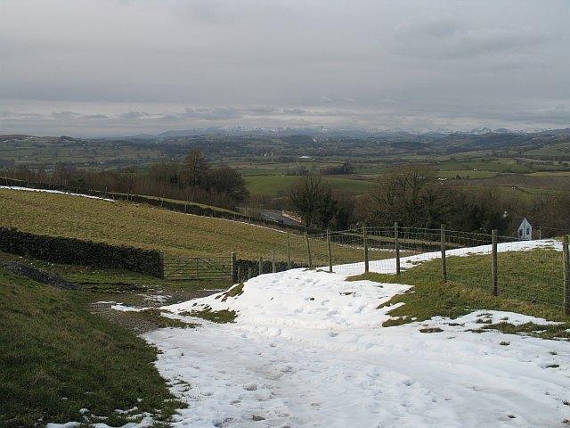 Farm access track off Appleby Road