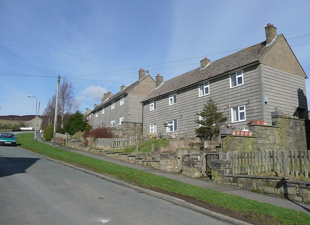 Houses, Walker Lane, Chiserley, Wadsworth