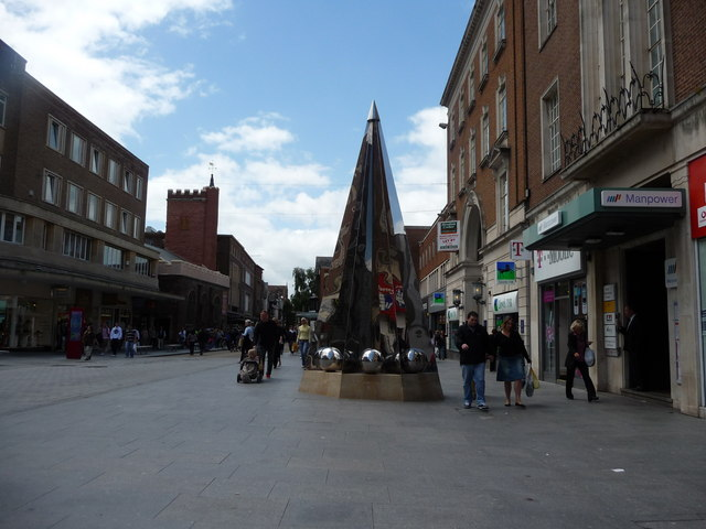 Exeter : Exeter Riddle & High Street