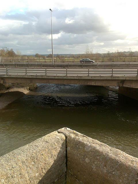 The A50 Bridge over the Dove