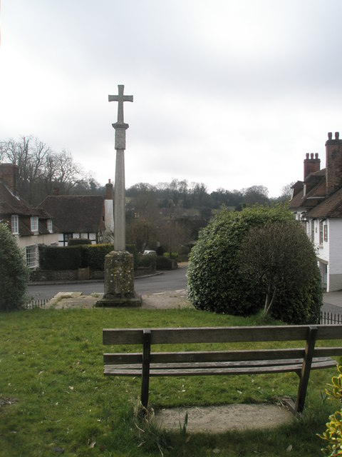 Seat on the Village Green at West Meon