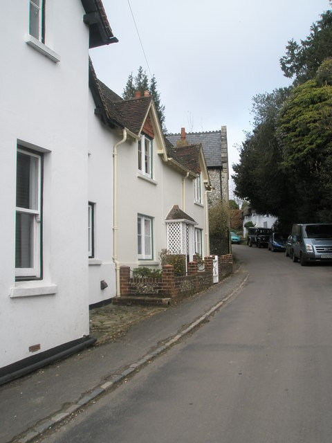 Cottages in Church Lane, West Meon
