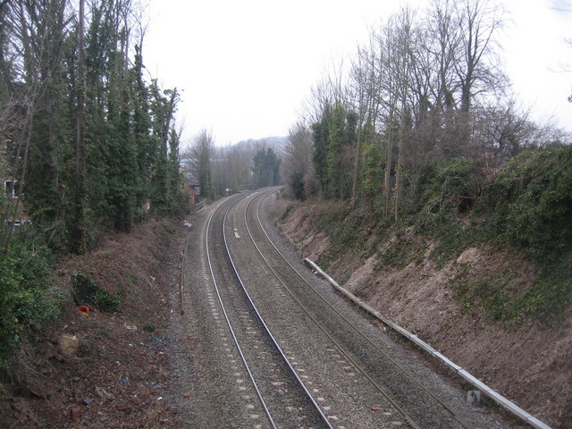 Heading west out of High Wycombe