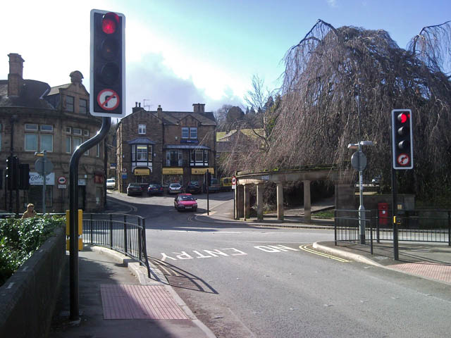 Junction of Dale Road, Snitterton Road and the new A6