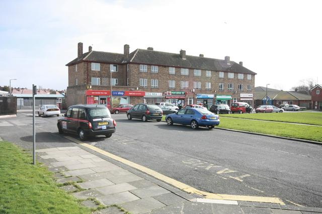 Shops on Grange Park Estate