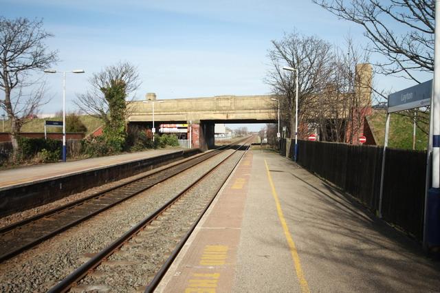 Railway Bridge at Layton