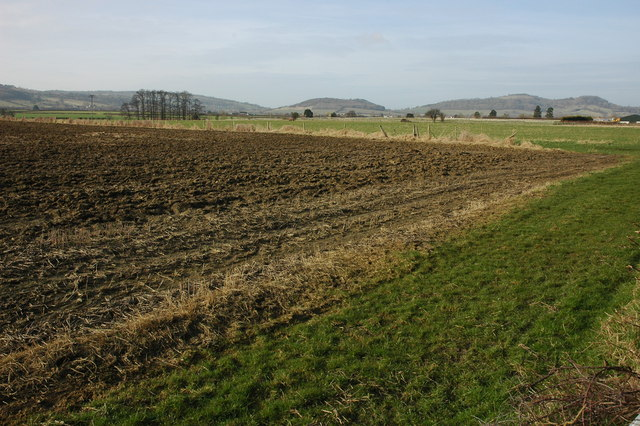 Farmland near Frampton Court, Alderton
