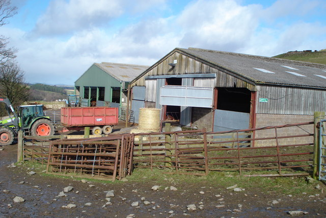 Farm Buildings at Milkeston Farm