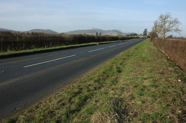 The B4077 near Alderton