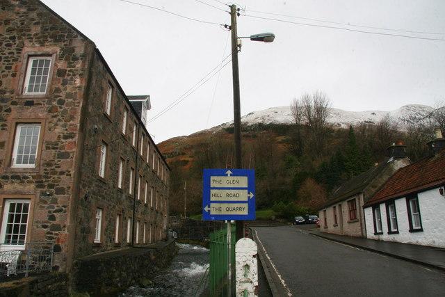Upper Mill Street, Tillicoultry