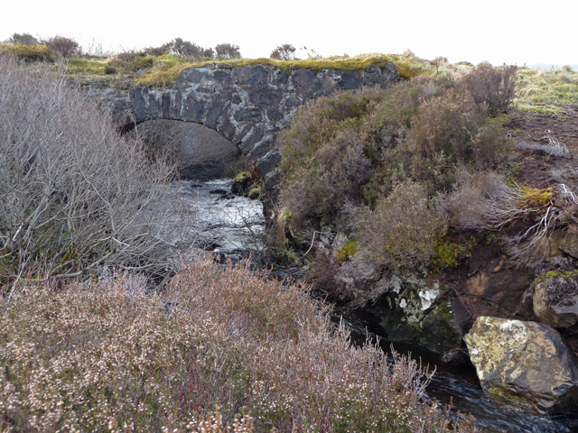 Bridge over the Carbost Burn