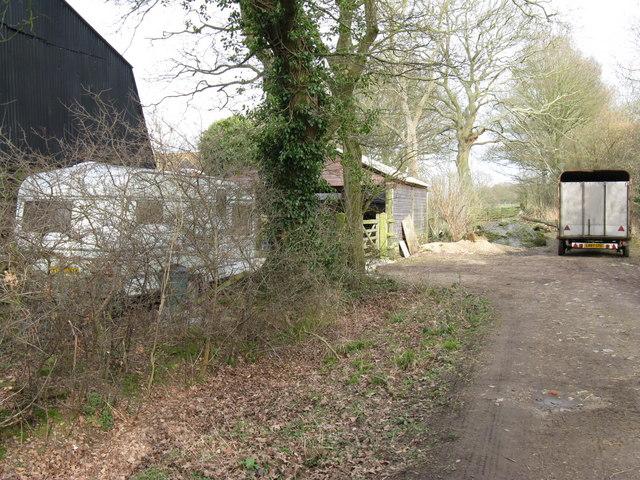 Footpath near North Heath