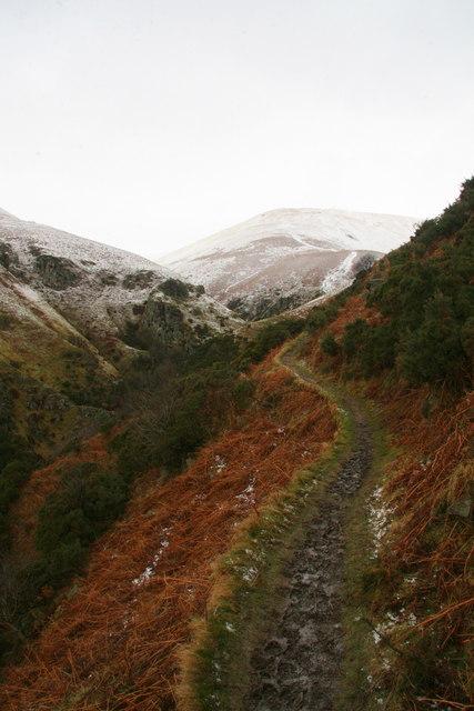 Footpath above Mill Glen