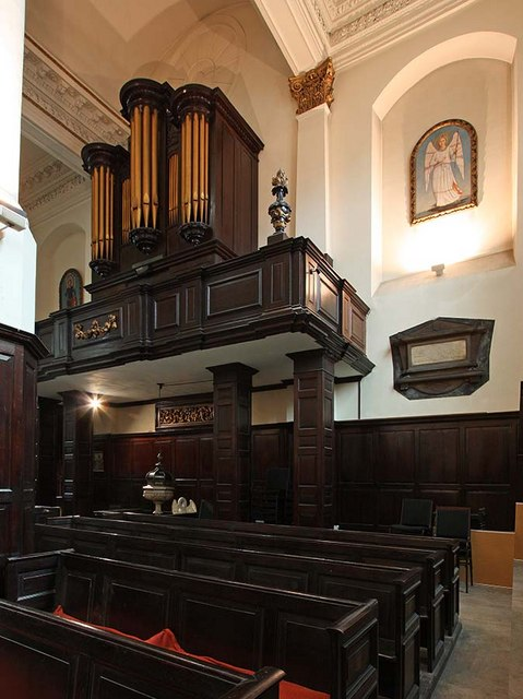 St Martin, Ludgate Hill, London EC4 - Organ loft