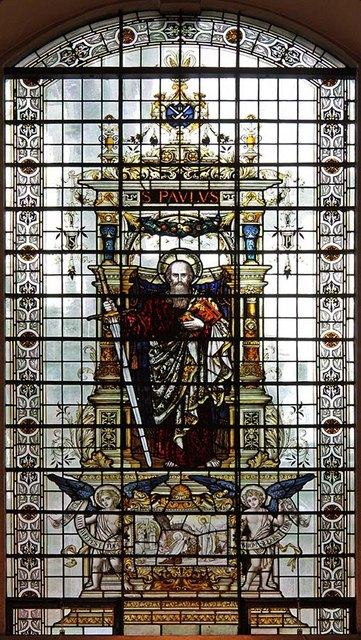 St Martin, Ludgate Hill, London EC4 - Window