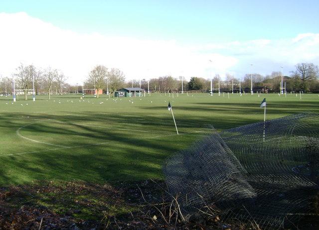 Warwick School playing fields