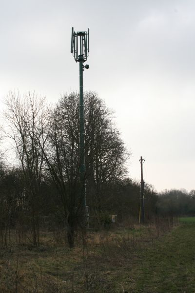 Mast by the canal