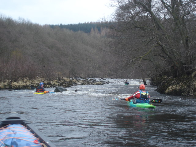 Low Wood Rapid on the Swale