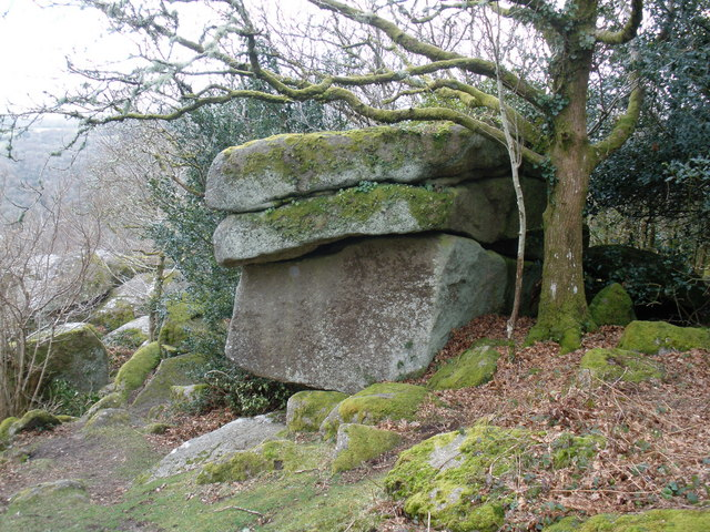 Boulders, near Harton Chest
