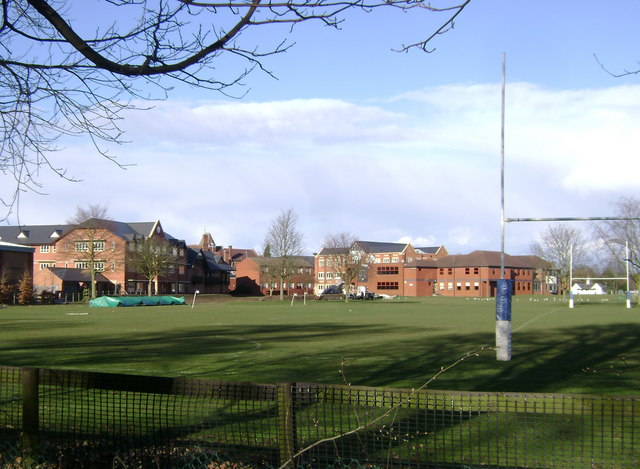 Warwick School from Banbury Road
